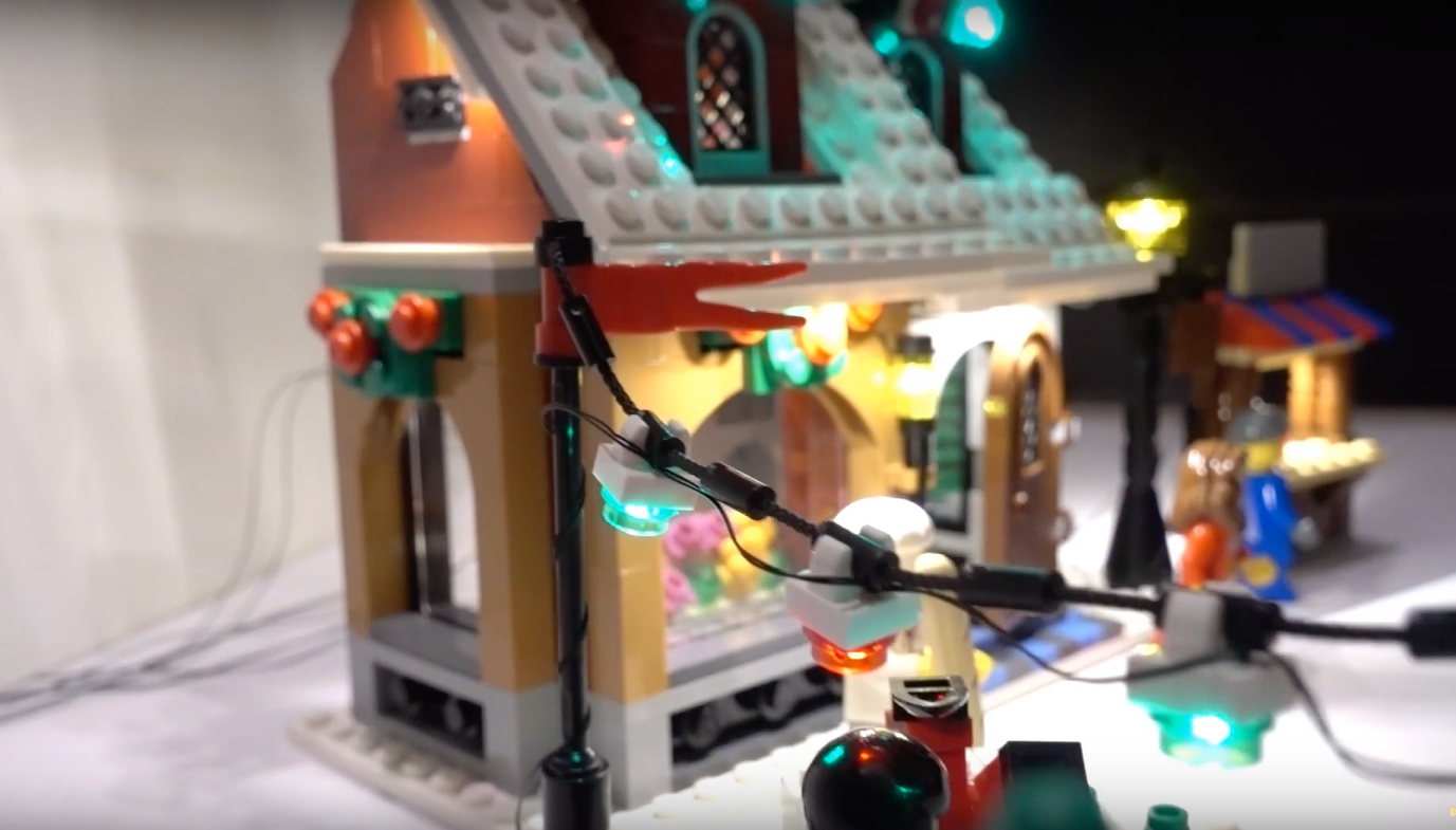 Review Led Light For Lego 10216 Winter Village Bakery4
