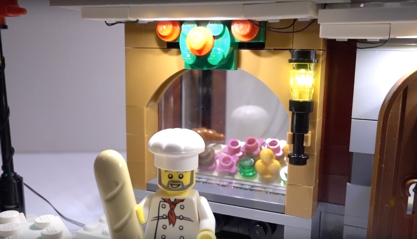 Review Led Light For Lego 10216 Winter Village Bakery5