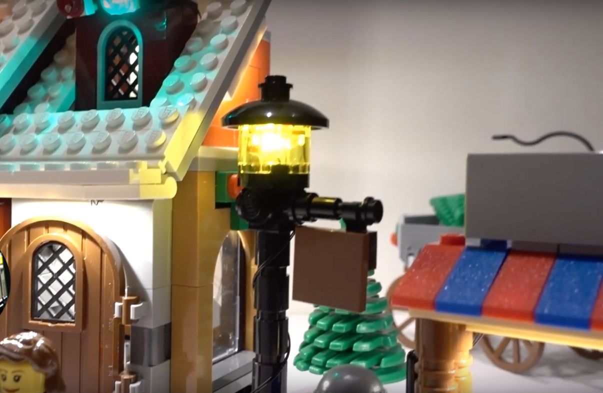 Review Led Light For Lego 10216 Winter Village Bakery6