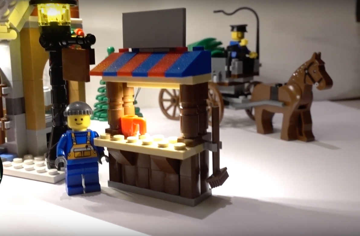 Review Led Light For Lego 10216 Winter Village Bakery7