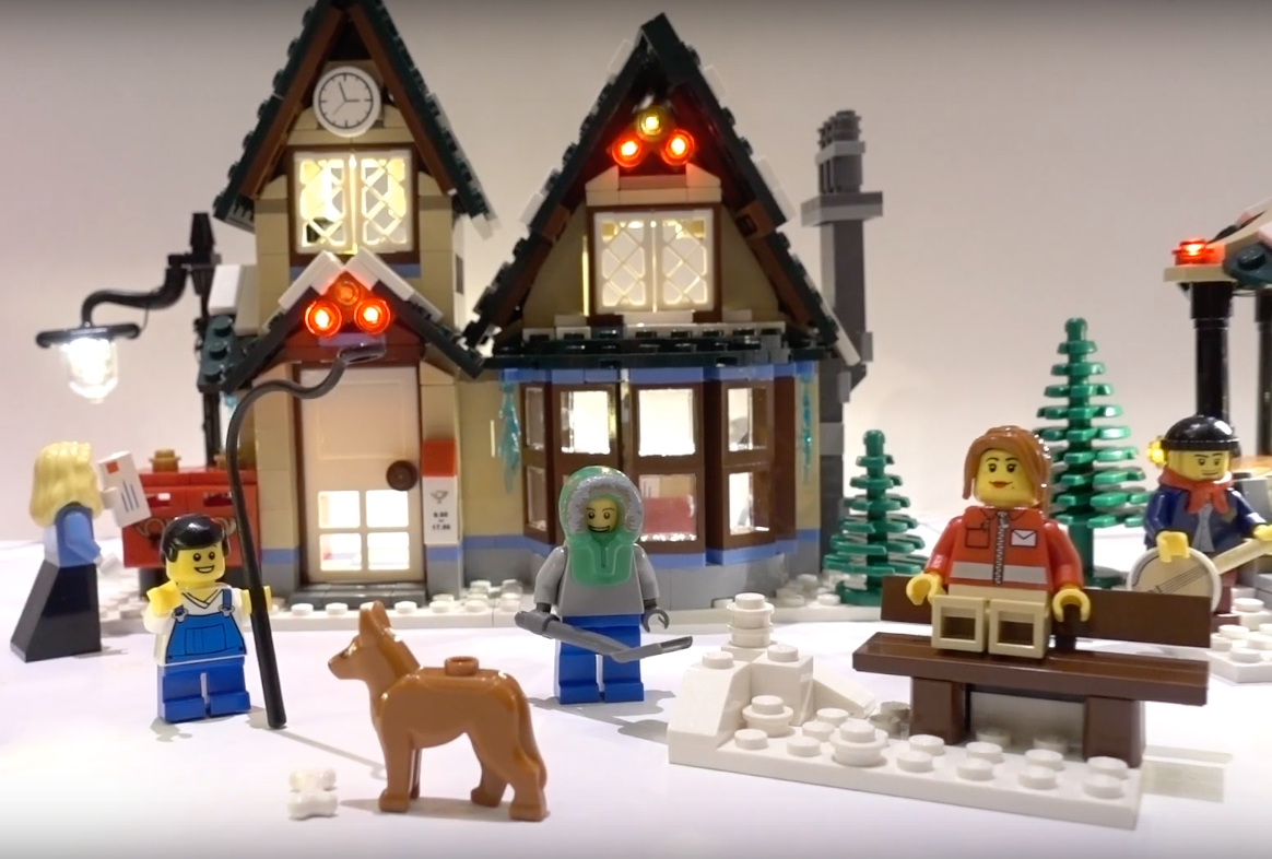 Review Led Light For Lego 10222 Winter Village Post Office 1