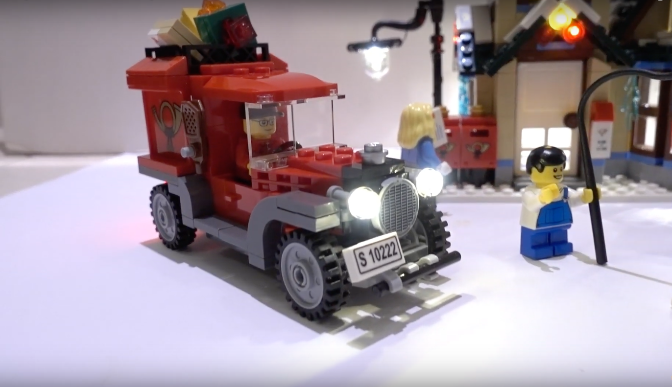 Review Led Light For Lego 10222 Winter Village Post Office 3