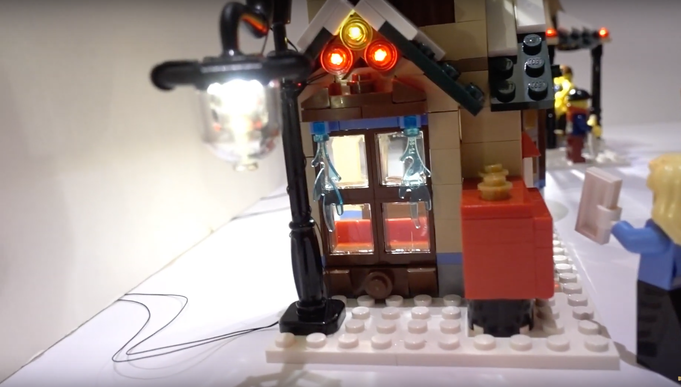 Review Led Light For Lego 10222 Winter Village Post Office 4