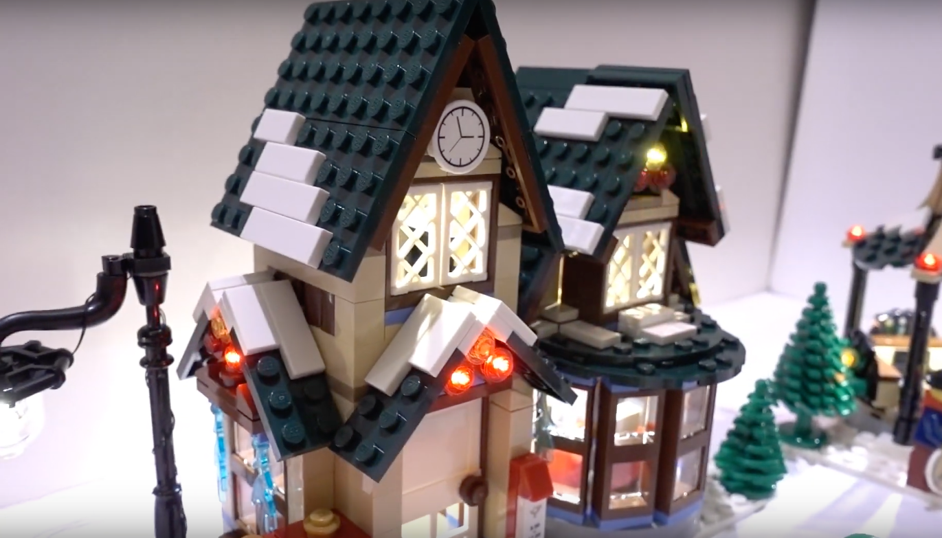 Review Led Light For Lego 10222 Winter Village Post Office 5