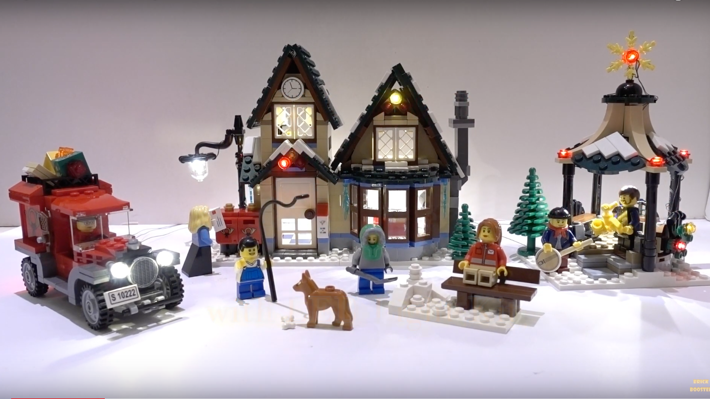 Review Led Light For Lego 10222 Winter Village Post Office 6