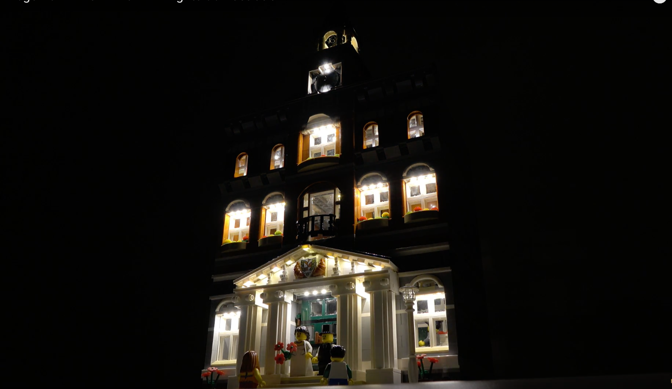 Review Led Light For Lego 10224 Town Hall10