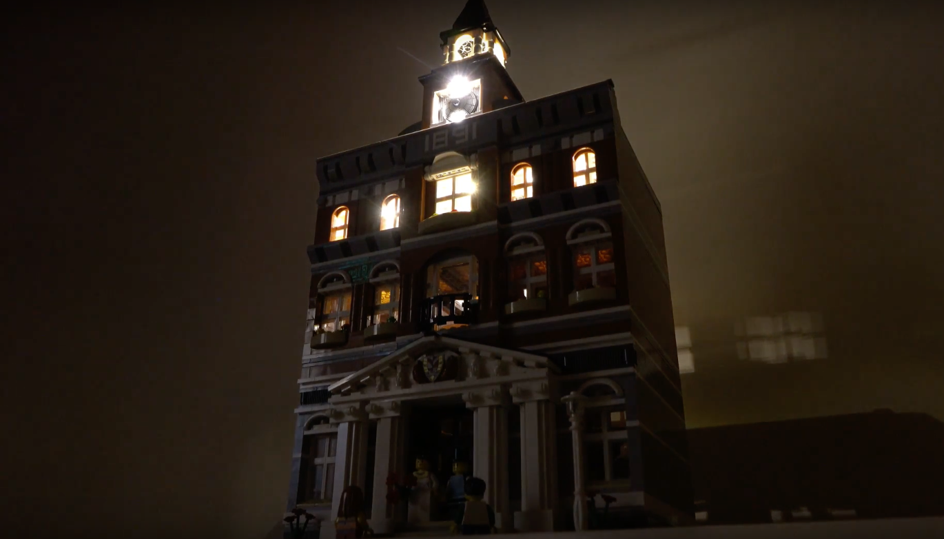 Review Led Light For Lego 10224 Town Hall2