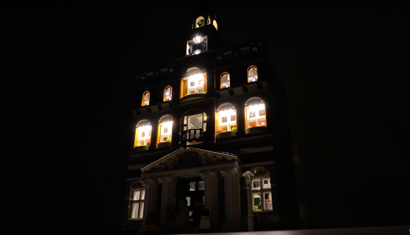 Review Led Light For Lego 10224 Town Hall3