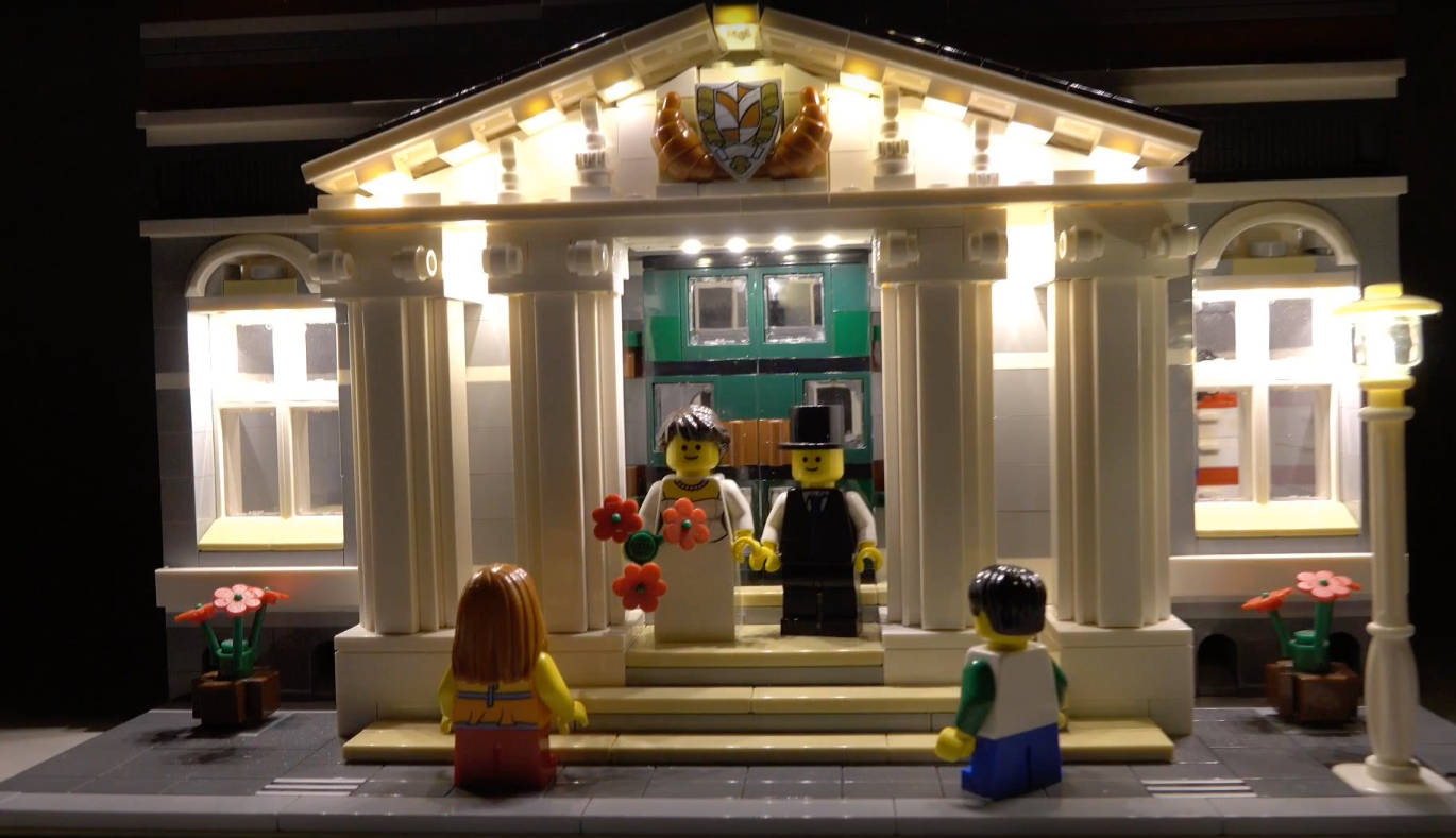 Review Led Light For Lego 10224 Town Hall4