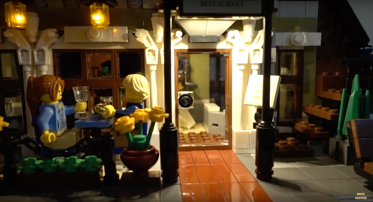 Review Led Light For Lego 10243 Parisian Restaurant 2
