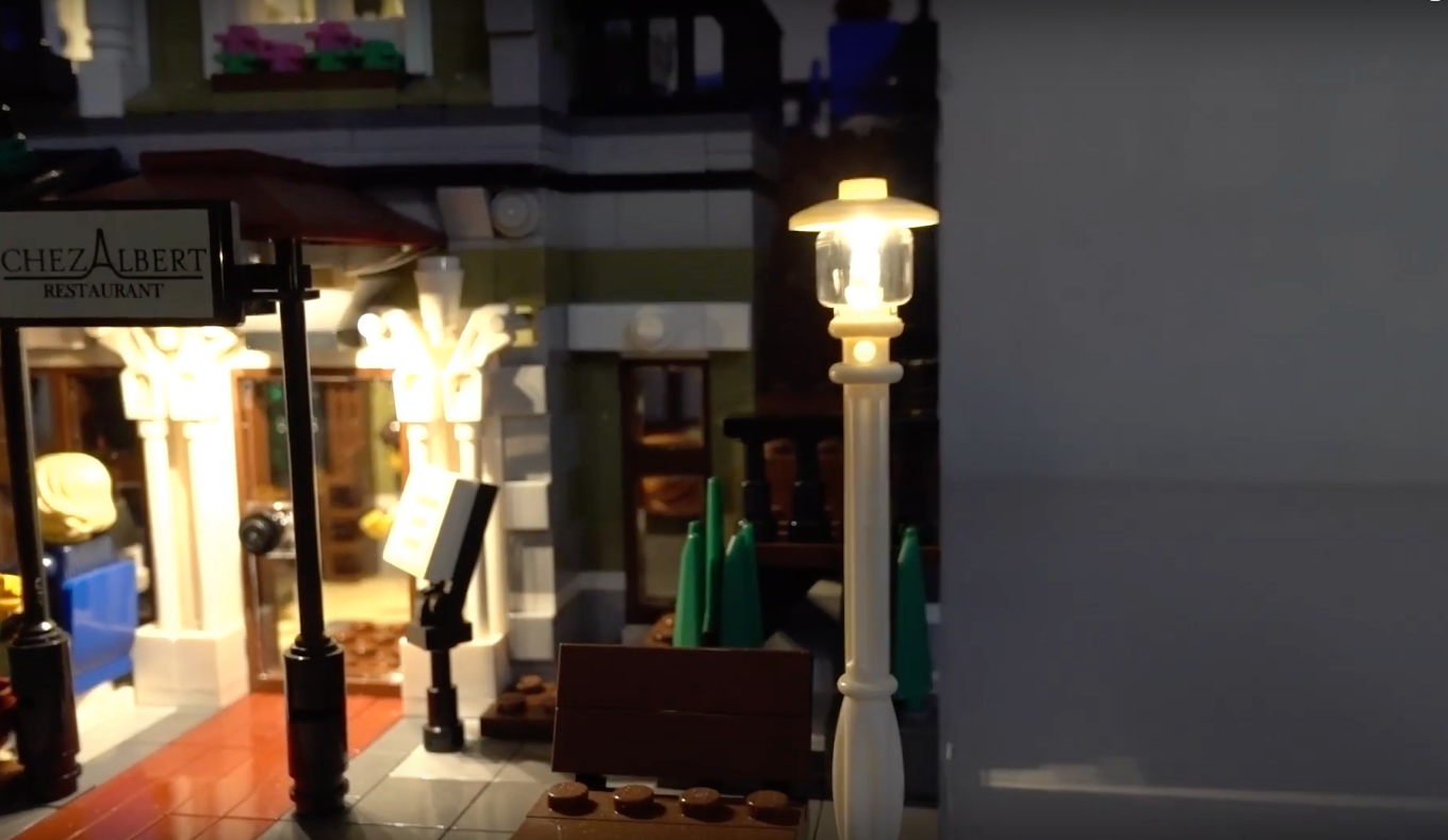 Review Led Light For Lego 10243 Parisian Restaurant 4
