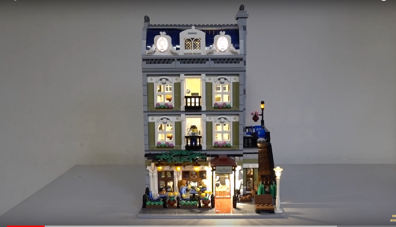 Review Led Light For Lego 10243 Parisian Restaurant 6