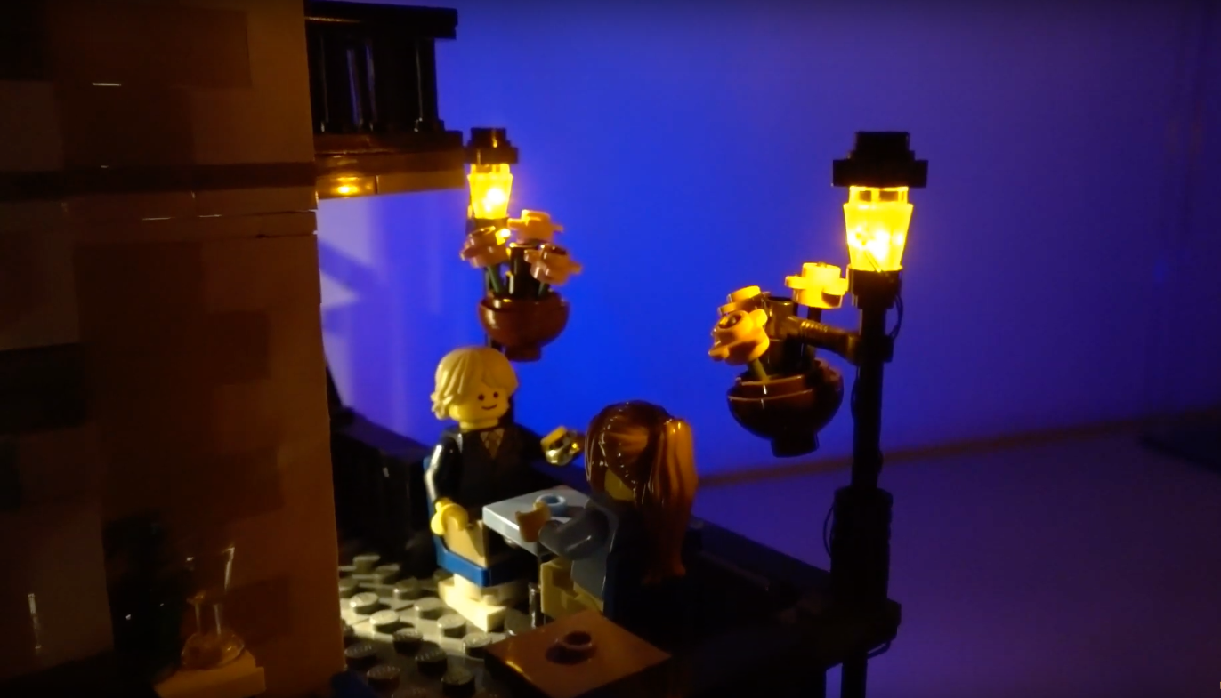 Review Led Light For Lego 10243 Parisian Restaurant 7