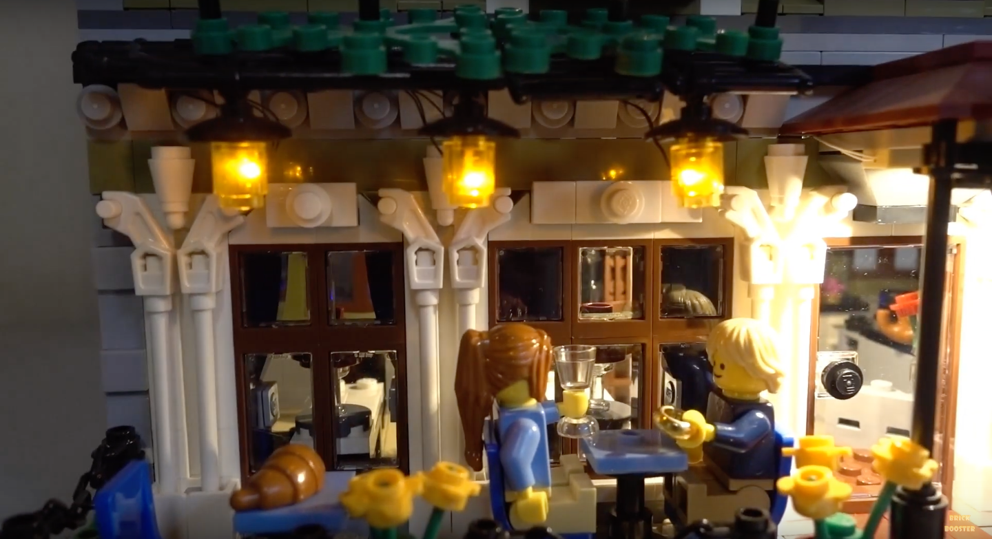 Review Led Light For Lego 10243 Parisian Restaurant 9
