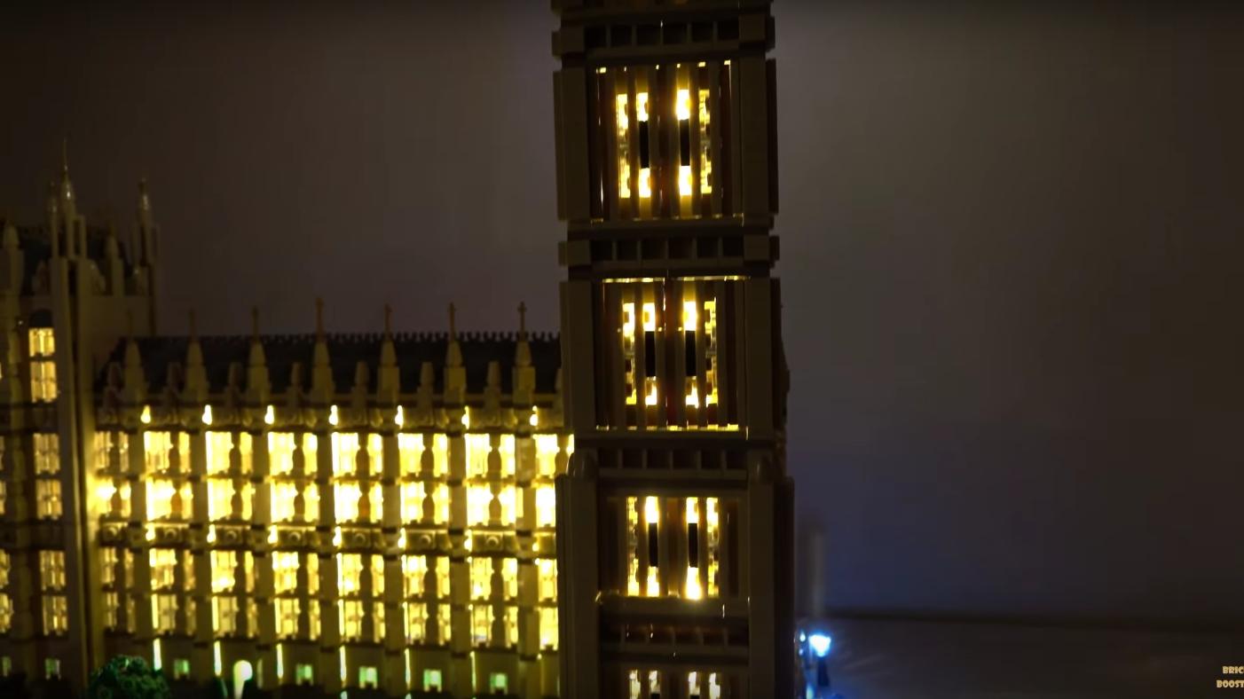 Review Led Light For Lego 10253 Big Ben1
