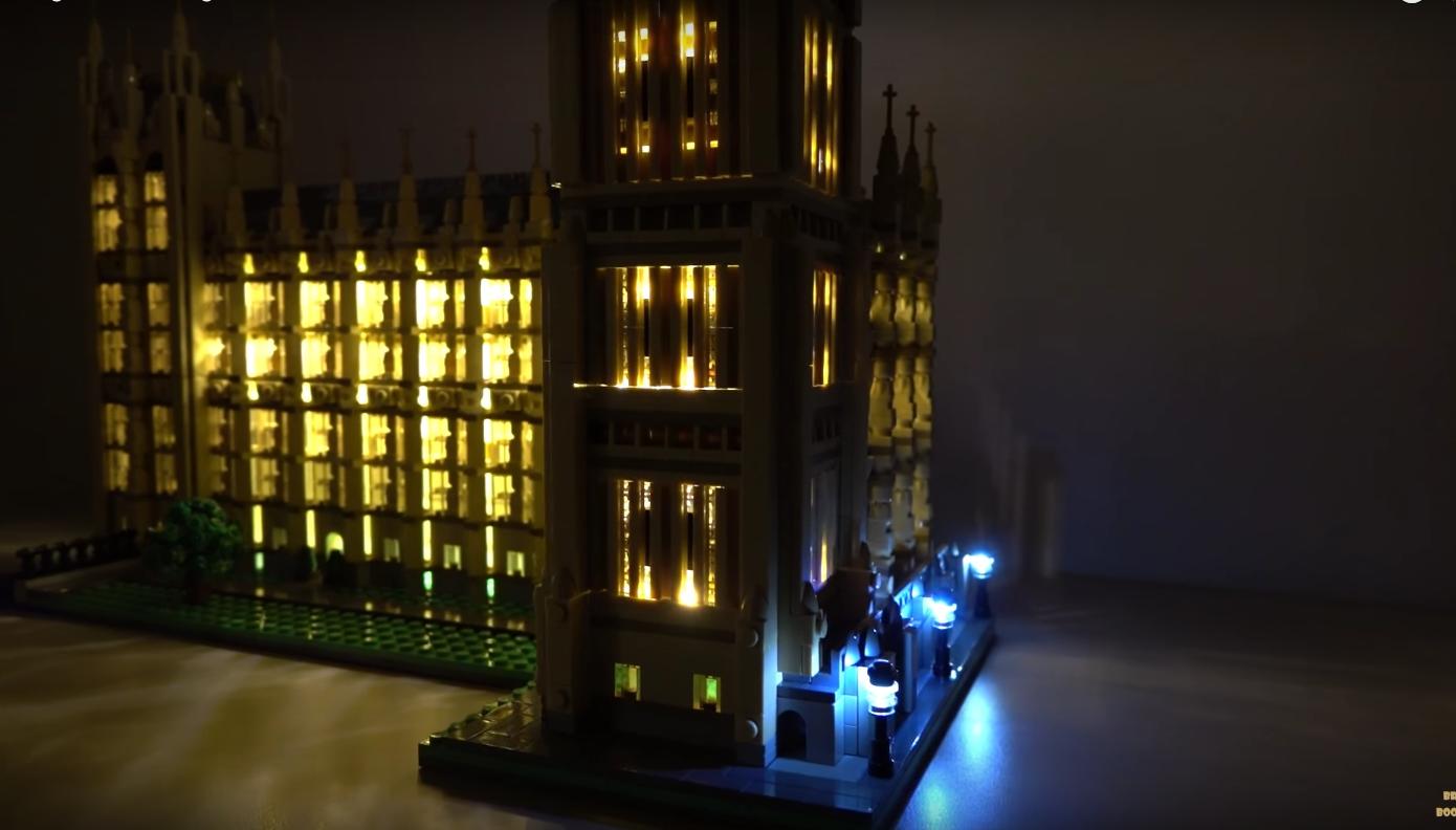 Review Led Light For Lego 10253 Big Ben3