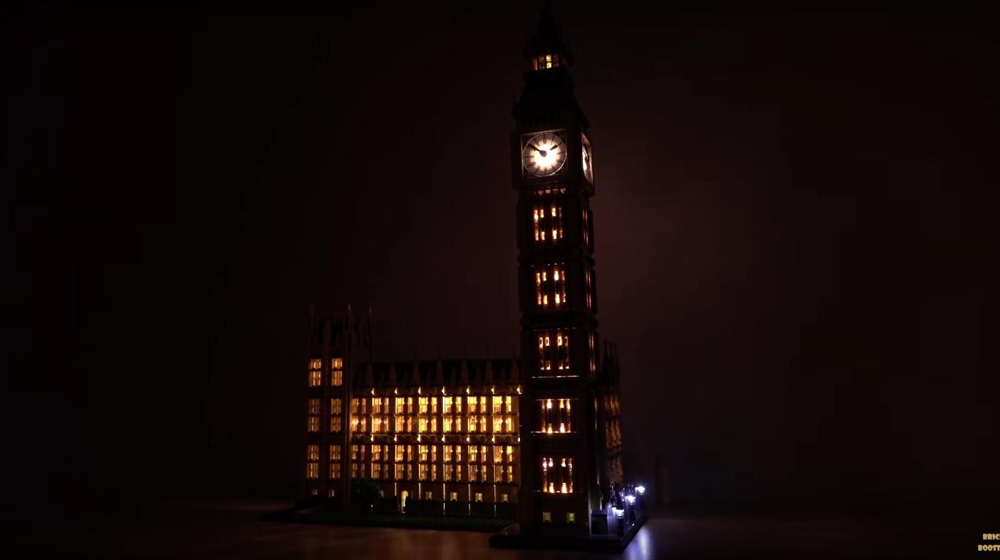 Review Led Light For Lego 10253 Big Ben6