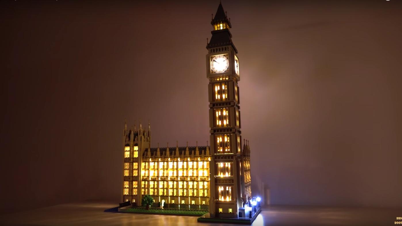 Review Led Light For Lego 10253 Big Ben7