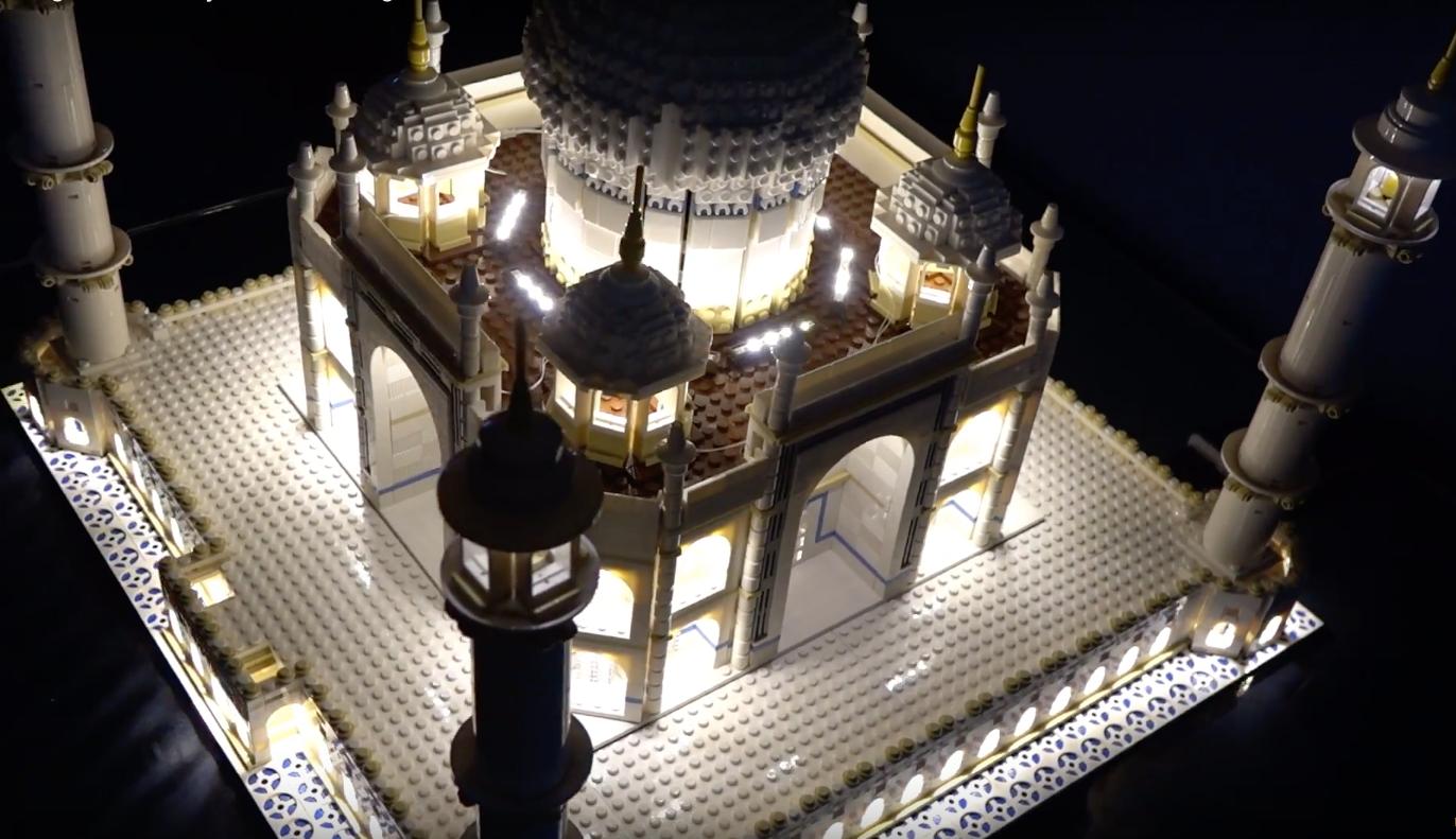 Review Led Light For Lego 10256 Taj Mahal 2