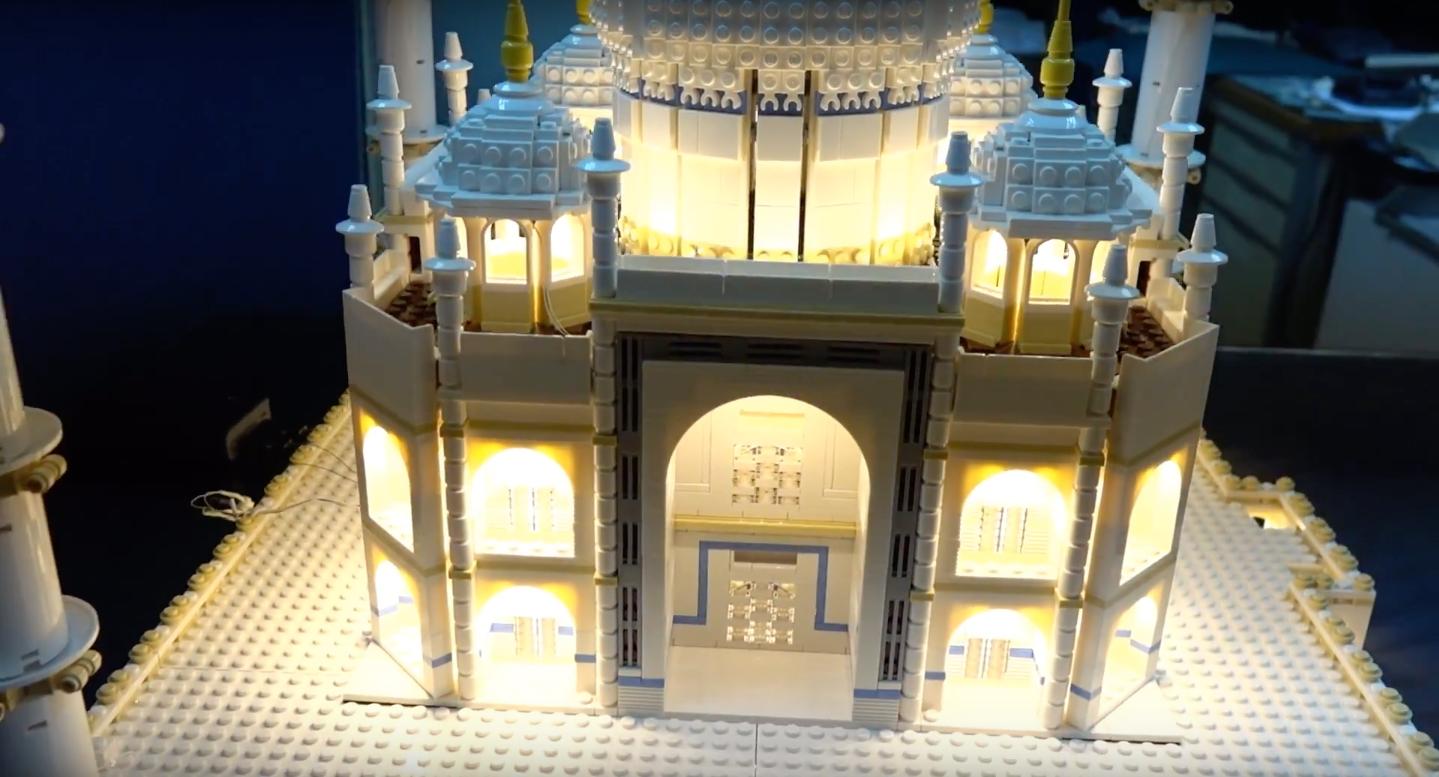 Review Led Light For Lego 10256 Taj Mahal 4