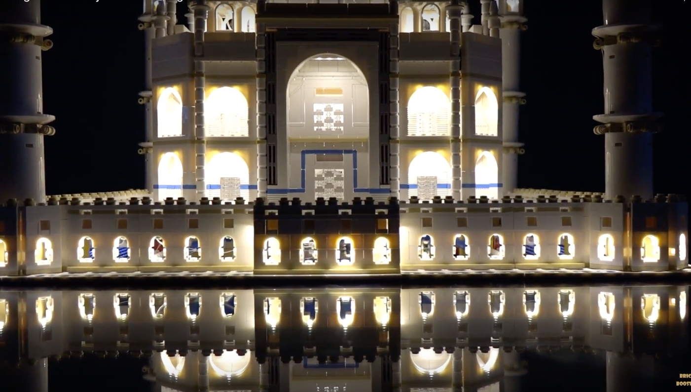 Review Led Light For Lego 10256 Taj Mahal 7