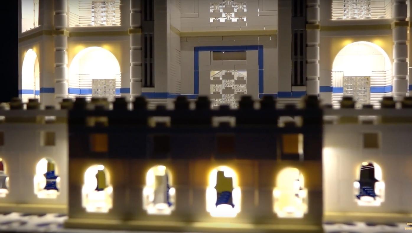 Review Led Light For Lego 10256 Taj Mahal 8