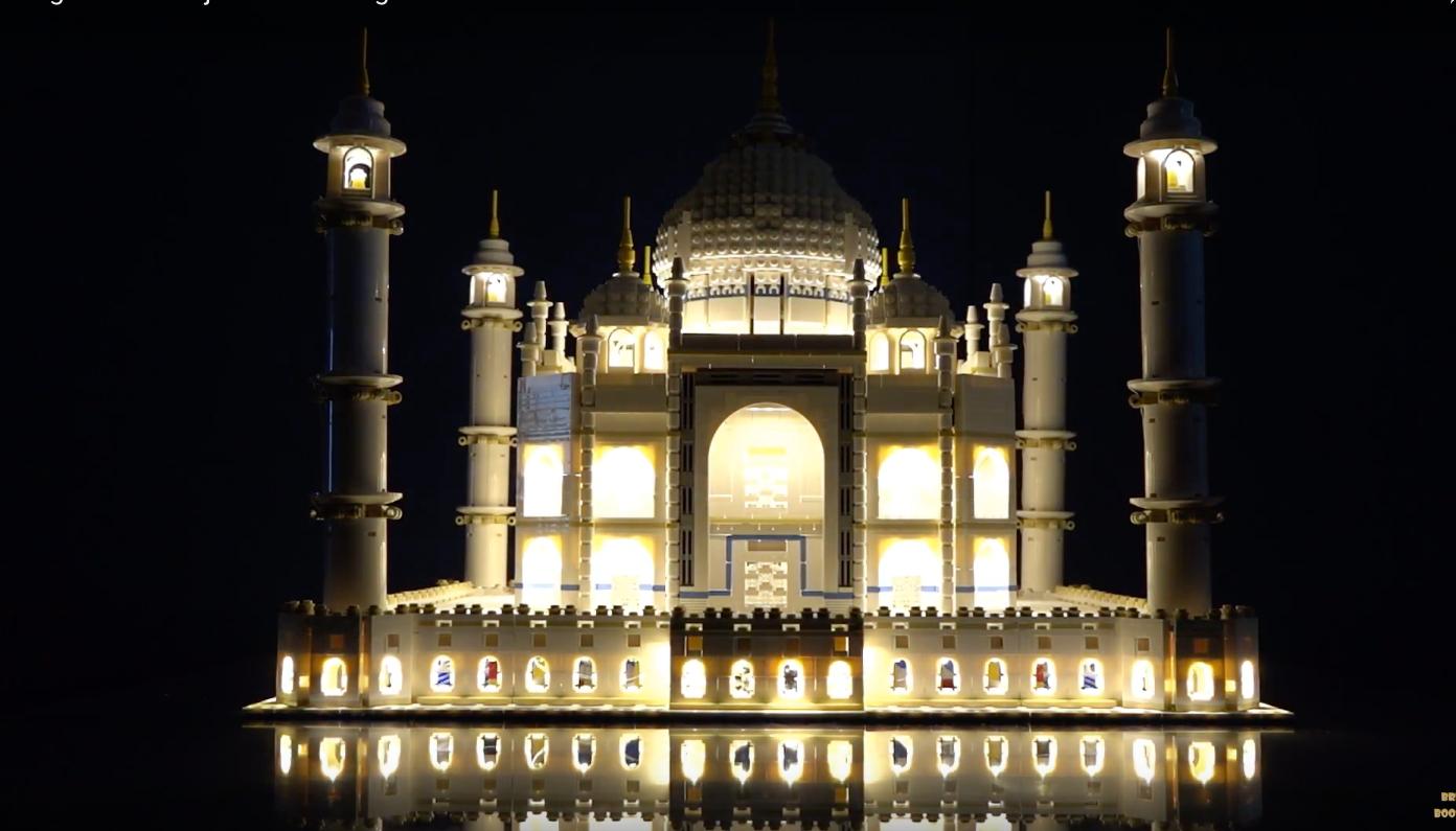 Review Led Light For Lego 10256 Taj Mahal 9