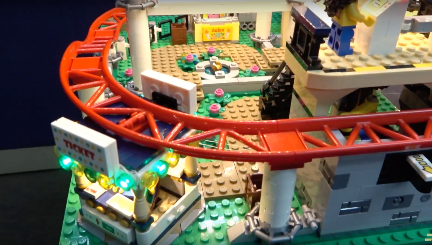 Review Led Light For Lego 10261 Roller Coaster 6