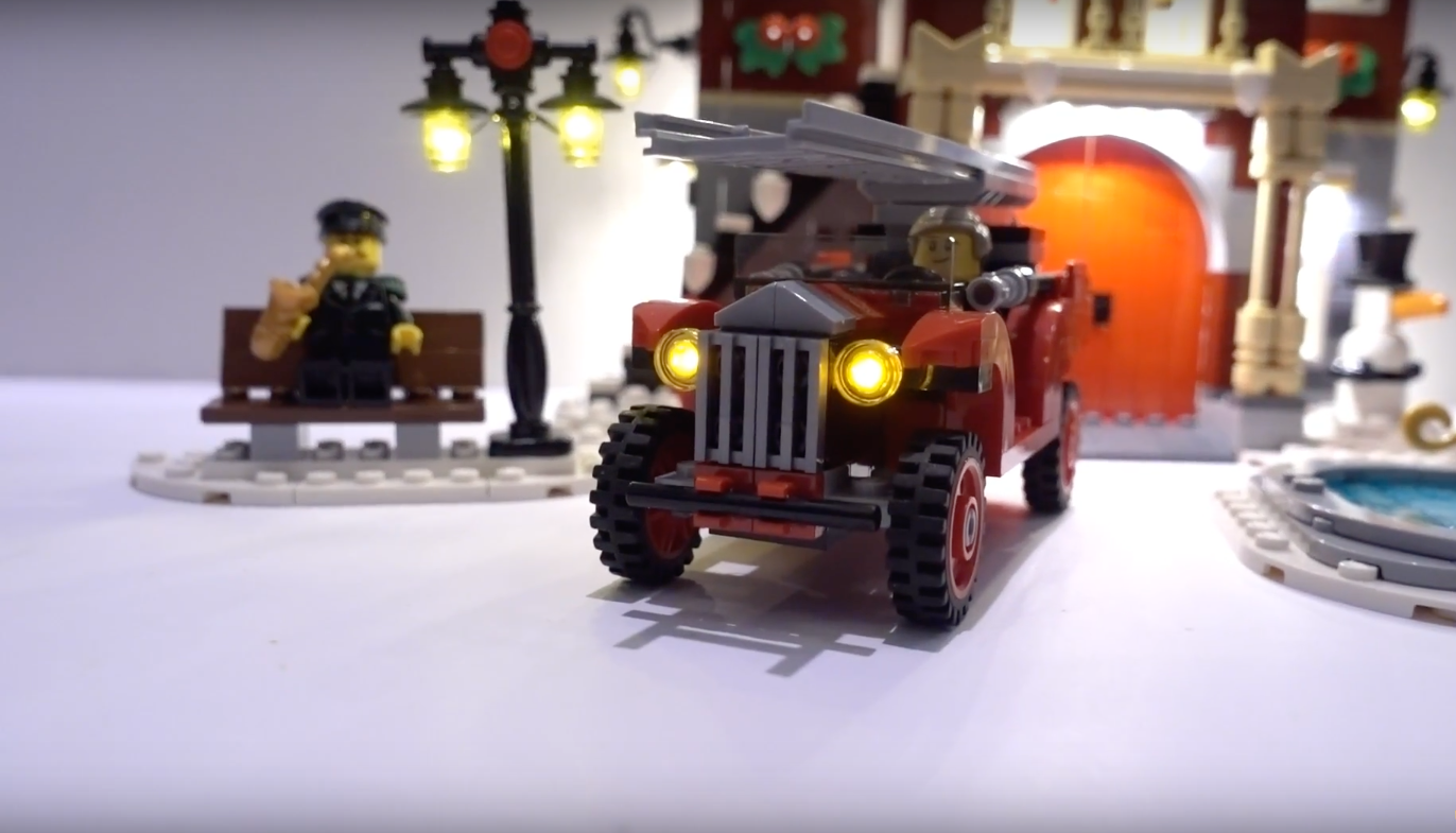 Review Led Light For Lego 10263 Winter Village Fire Station 2