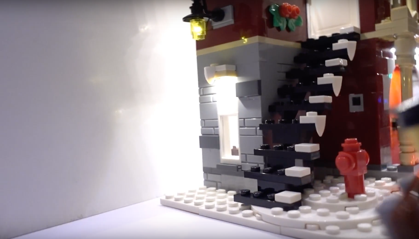 Review Led Light For Lego 10263 Winter Village Fire Station 4