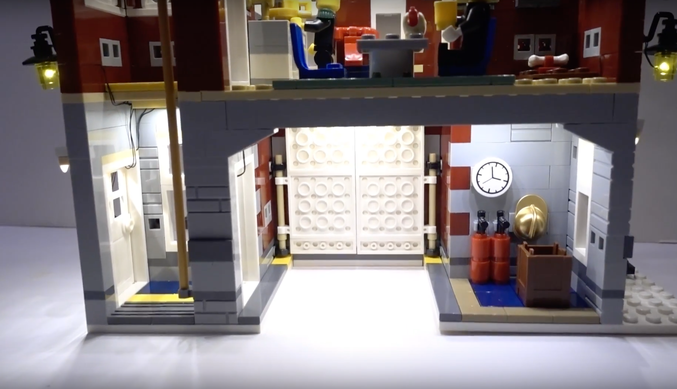 Review Led Light For Lego 10263 Winter Village Fire Station 6