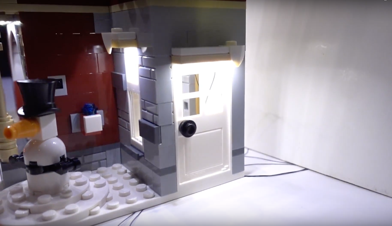Review Led Light For Lego 10263 Winter Village Fire Station 7