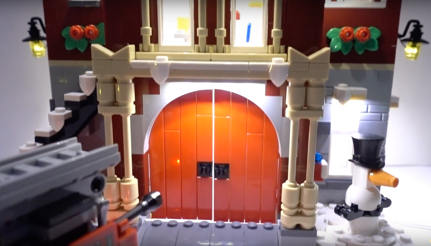 Review Led Light For Lego 10263 Winter Village Fire Station 9