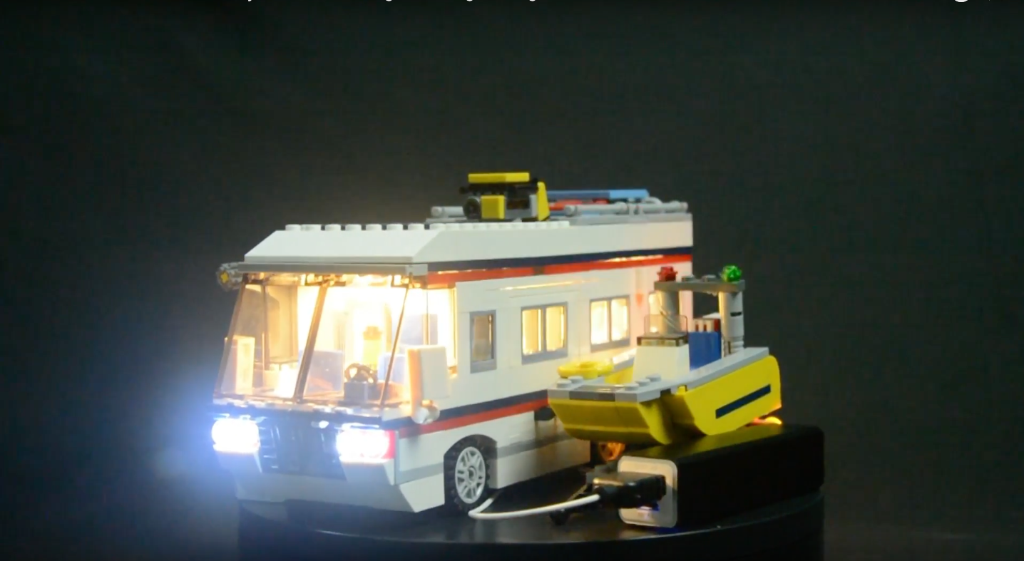 Review Led Light For Lego 31052 Vacation Getaways1