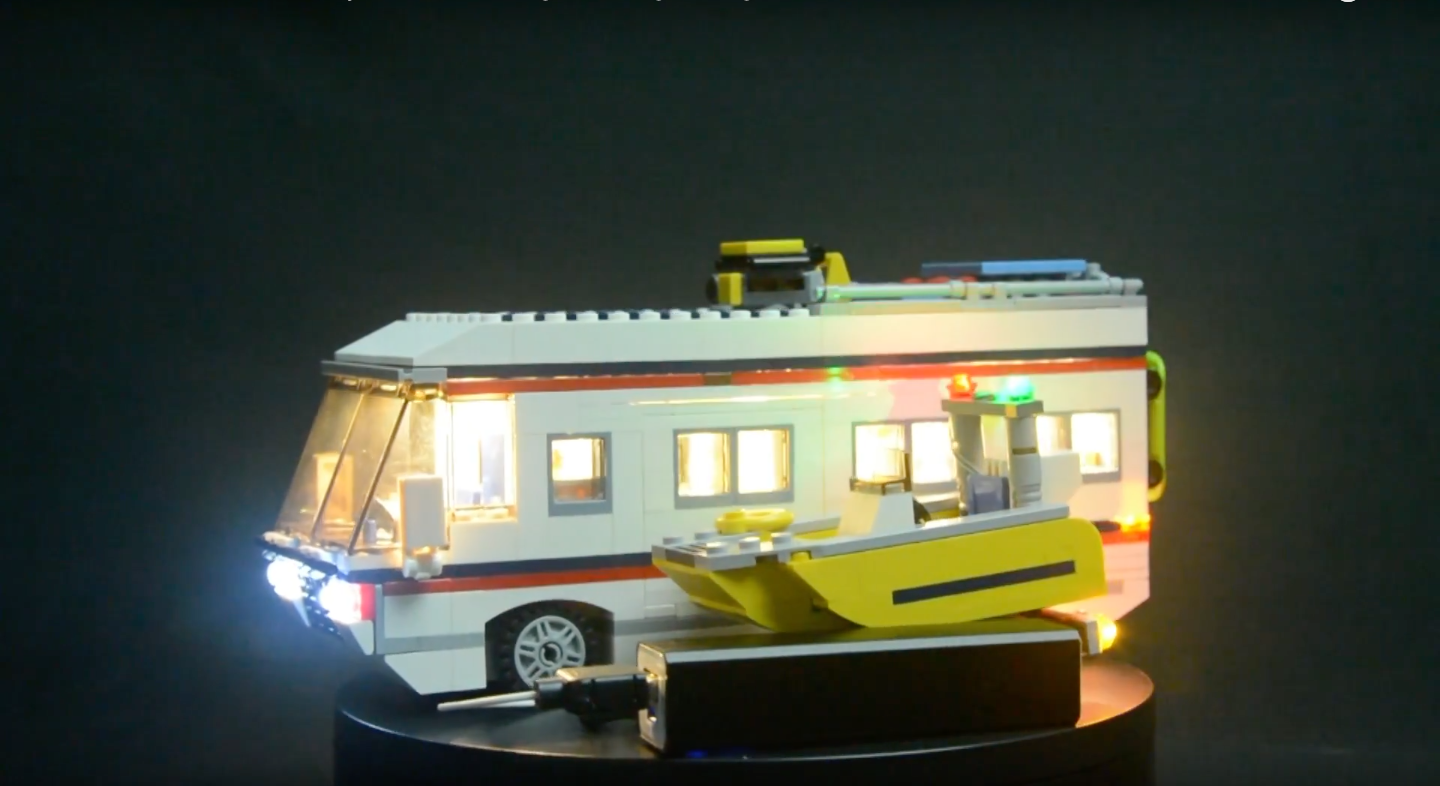 Review Led Light For Lego 31052 Vacation Getaways2