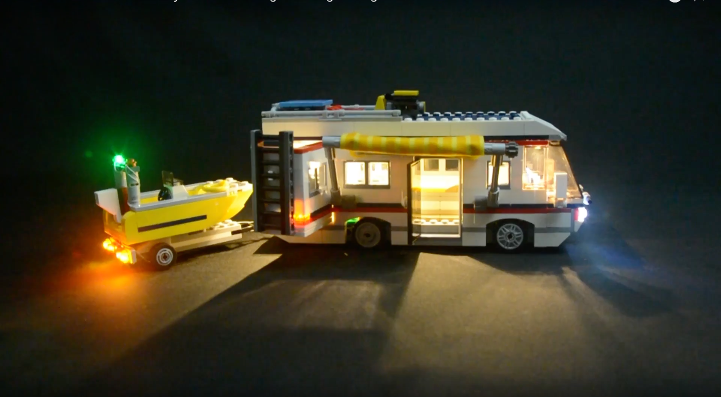 Review Led Light For Lego 31052 Vacation Getaways7