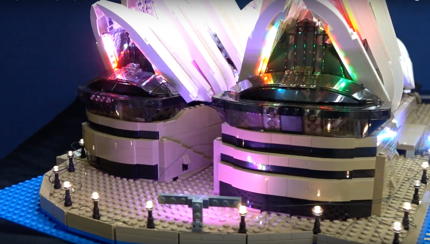 Review Led Light For Lego Sydney Opera House 10