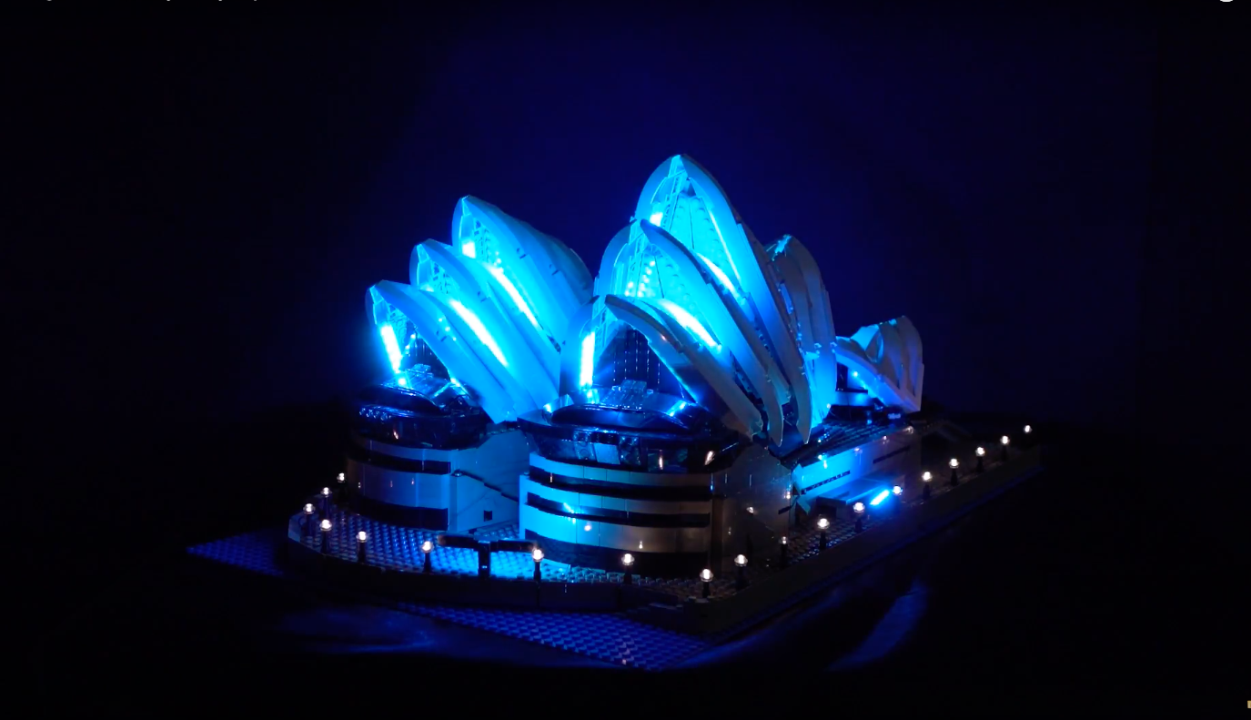 Review Led Light For Lego Sydney Opera House 11