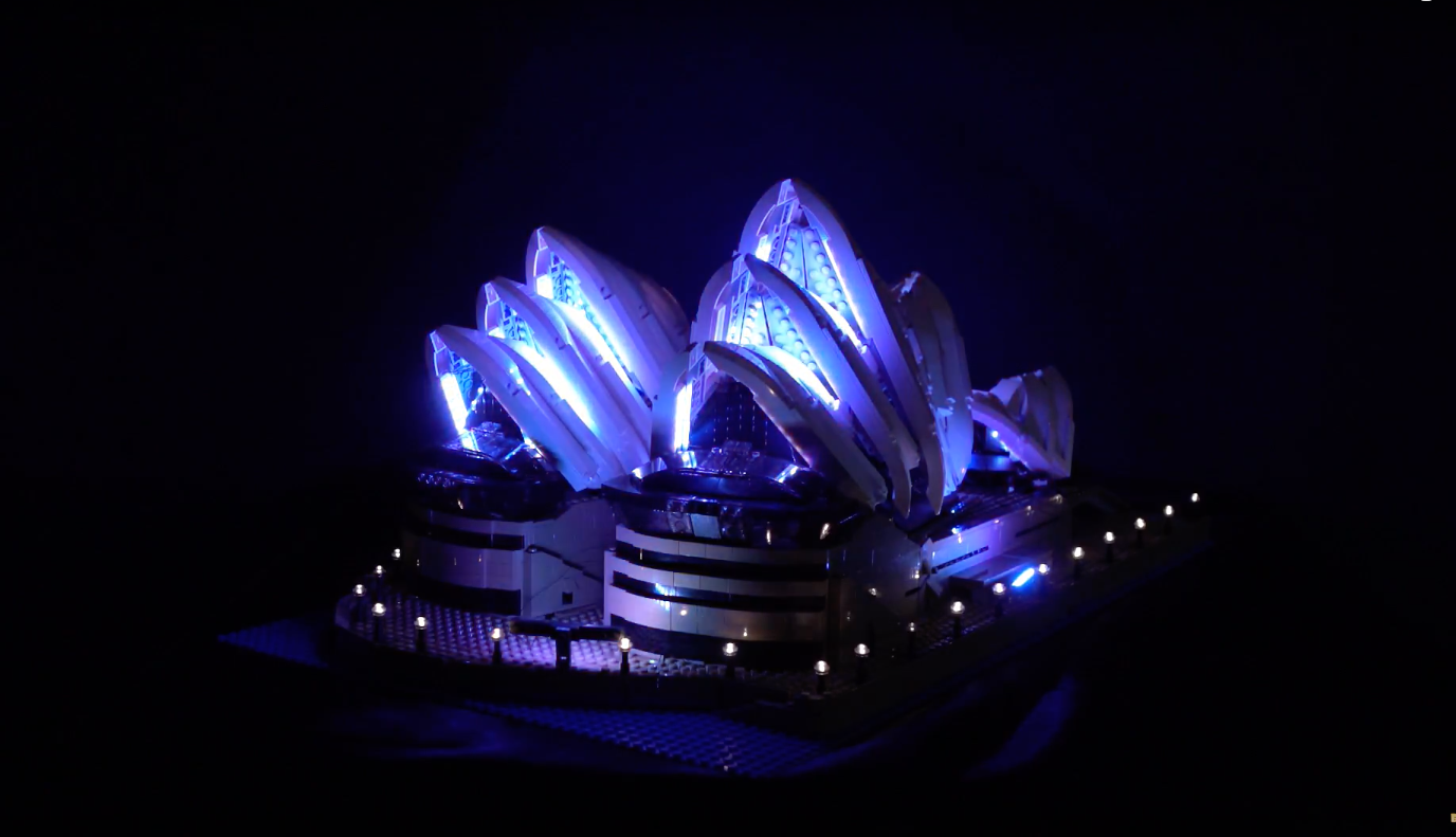 Review Led Light For Lego Sydney Opera House 12