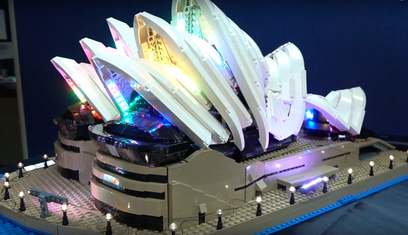 Review Led Light For Lego Sydney Opera House 4