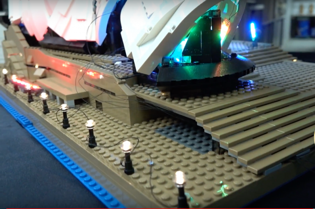 Review Led Light For Lego Sydney Opera House 5 1