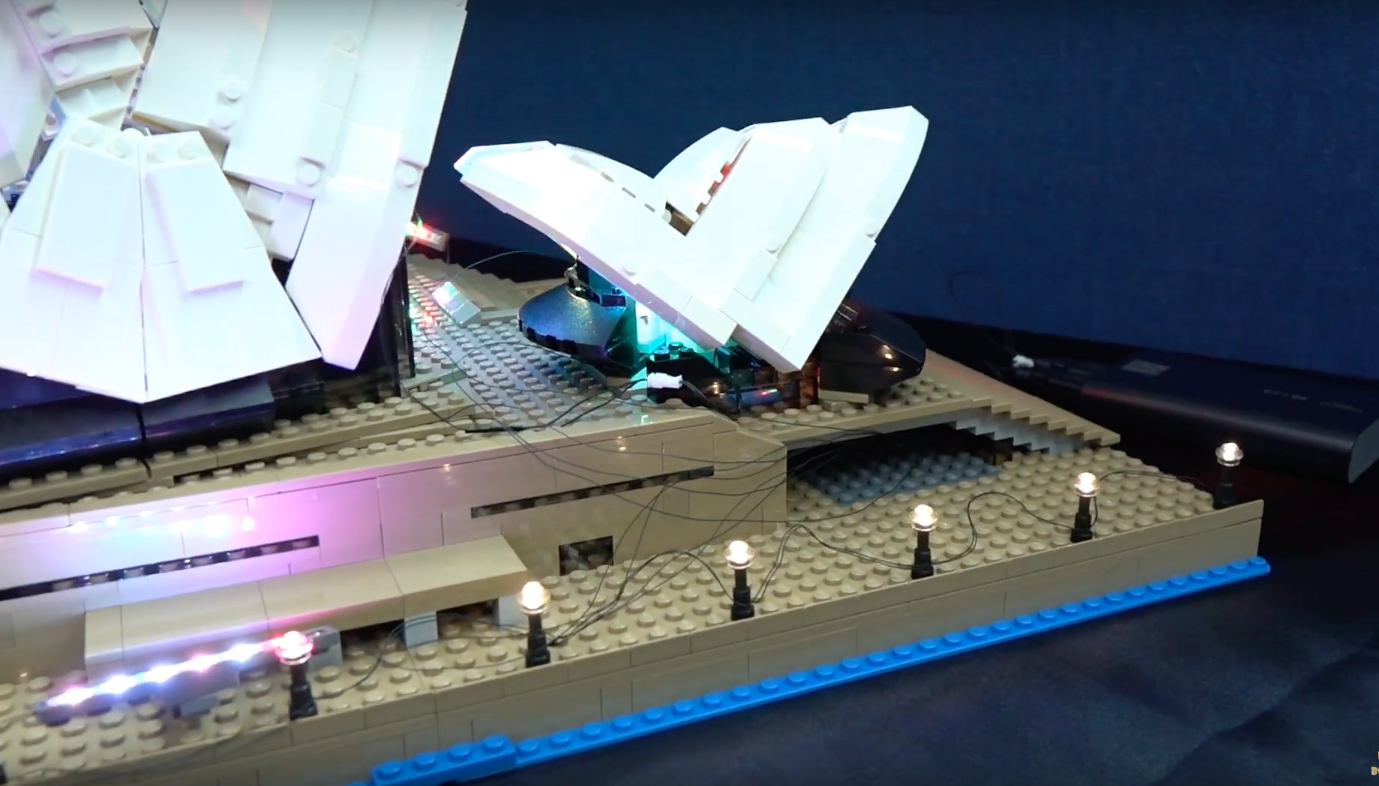 Review Led Light For Lego Sydney Opera House 7