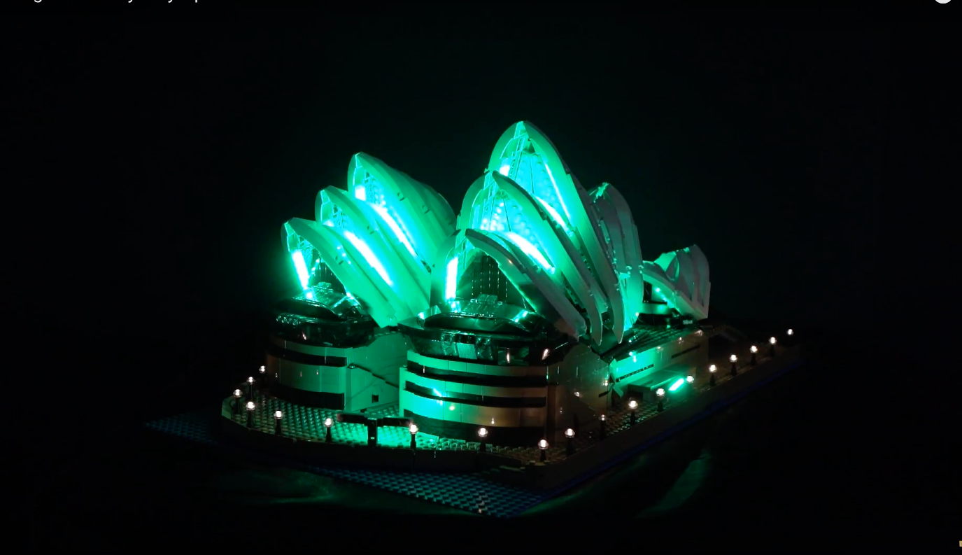Review Led Light For Lego Sydney Opera House 8
