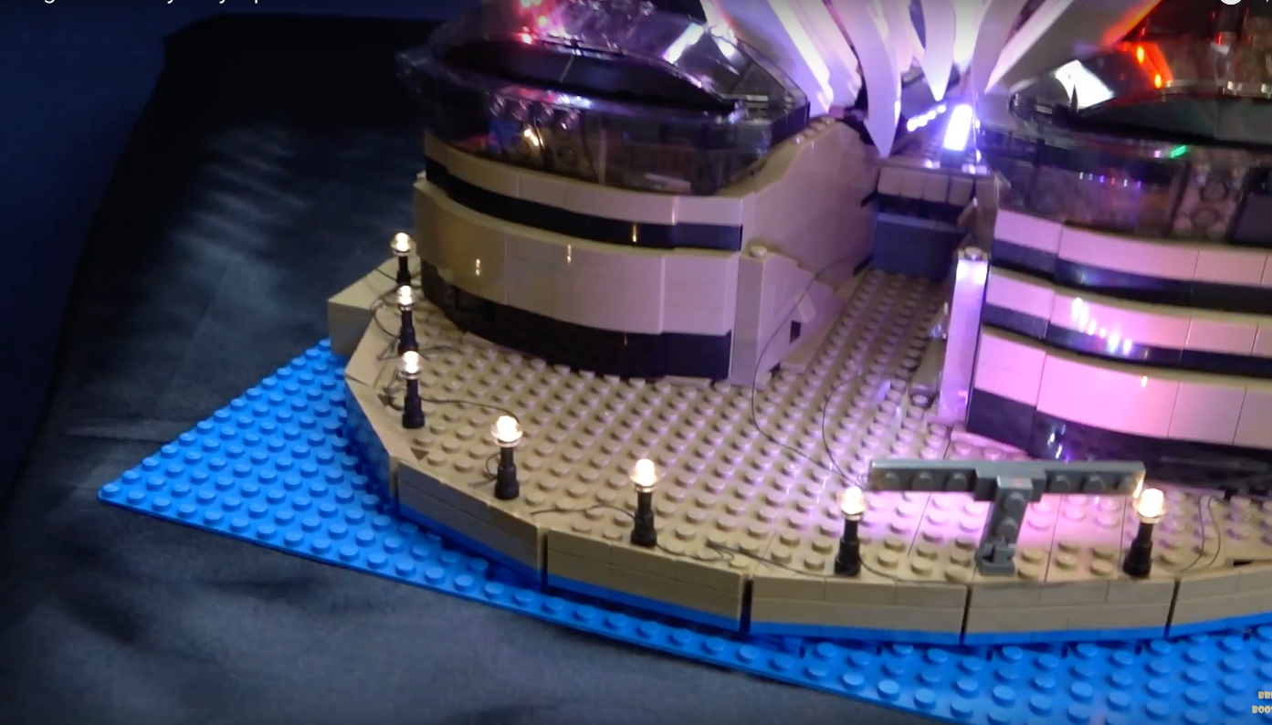 Review Led Light For Lego Sydney Opera House 9