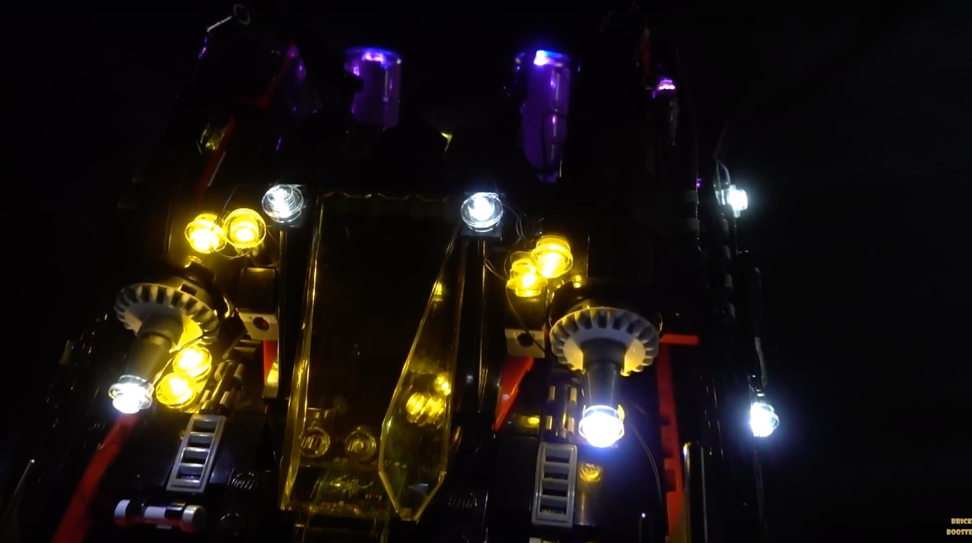 Review Led Light For Lego The Ultimate Batmobile 709175 1