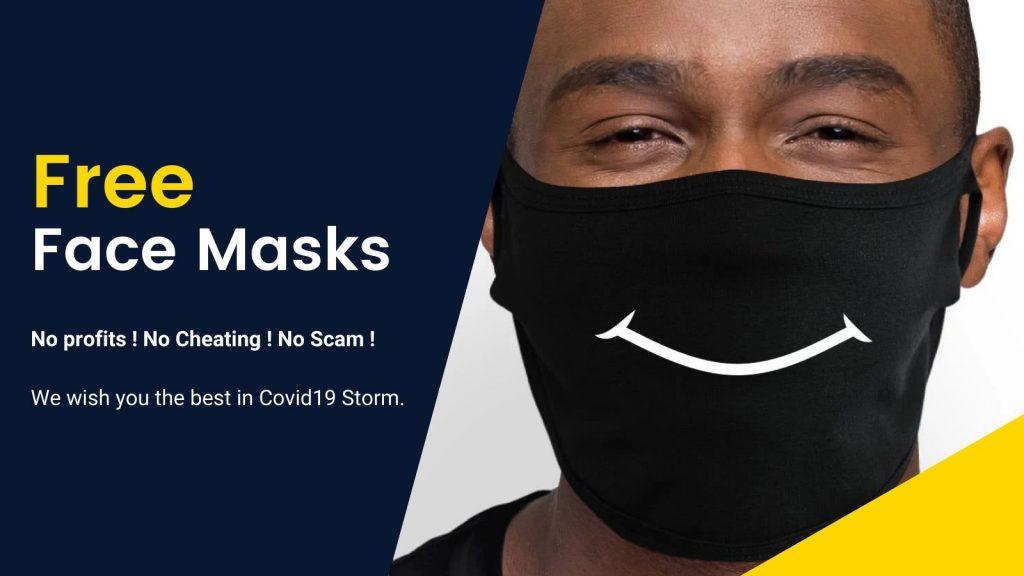 Free Mask Banner 2 - Bricks Delight