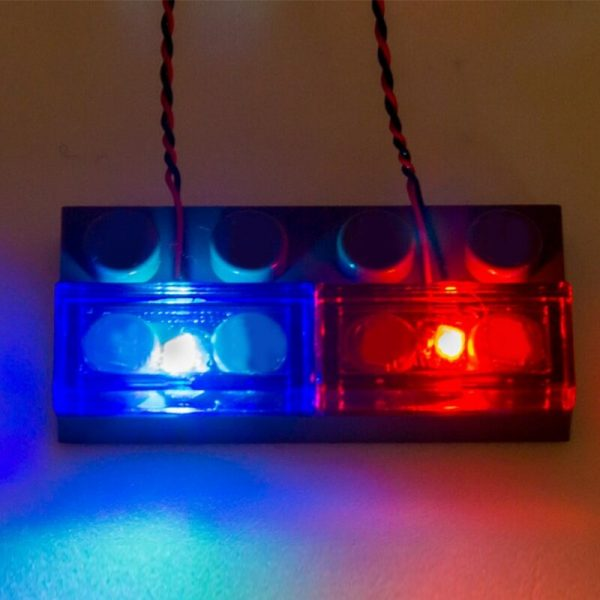 4 Packs Led Light Set For Lego City Street Single lamp battery box USB For lego - Bricks Delight