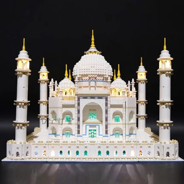 LED Light Kit for lego 10189 10256 and 17001 17008 The taj mahal Building Blocks Bricks 1 - Bricks Delight