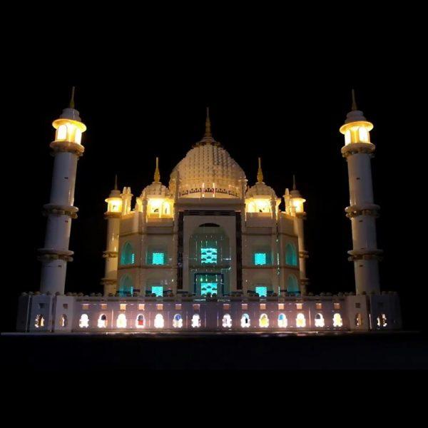 LED Light Kit for lego 10189 10256 and 17001 17008 The taj mahal Building Blocks Bricks 2 - Bricks Delight