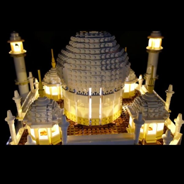 LED Light Kit for lego 10189 10256 and 17001 17008 The taj mahal Building Blocks Bricks 3 - Bricks Delight